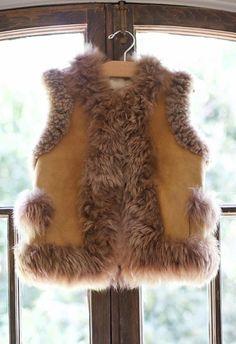 LITTLE MOSS Winnie Vest | Spanish Moss