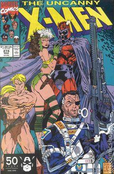 Uncanny X-Men Covers #274 cover by Jim Lee