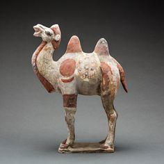 Tang Sculpture of a Camel