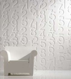Using Embossed 'Iconic' Panels to Dress Up Your Interior Decor #wallpaper trendhunter.com
