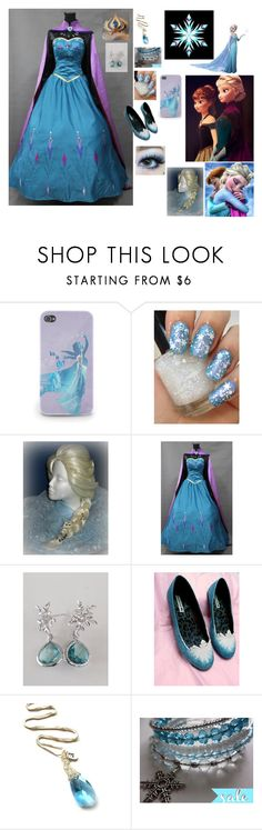 """Frozen"" by sammie2244 ❤ liked on Polyvore featuring Disney, INDIE HAIR and YooLa"