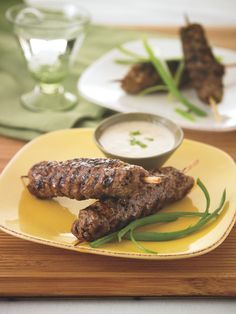 Seasonal Snack: Yakitori Beef Skewers
