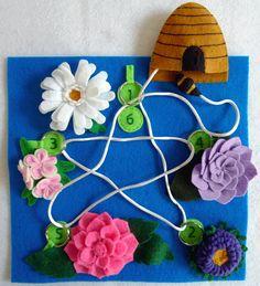 Activity Book: Flower Garden by craftygreenrabbit.wordpress.com, via Flickr