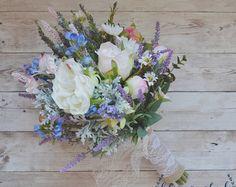 Wildblume Bouquet Lavendel und lila von blueorchidcreations