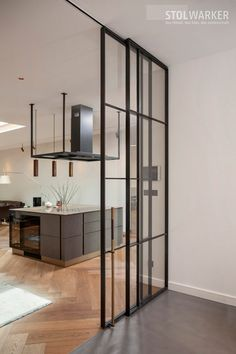 Home Room Design, Interior Design Kitchen, Living Room Designs, Snug Room, House Rooms, Door Design, Glass Door, Home Projects, New Homes