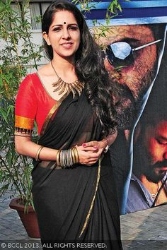 Aparna Nair in Saree