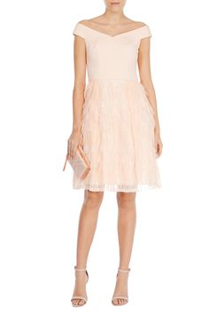 KEELEY FEATHER DRESS