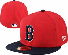 Boston Red Sox Red Cooperstown 59FIFTY Fitted Hat