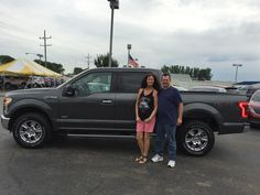 RONALD AND WENDY's new 2016 Ford F150! Congratulations and best wishes from Kunes Country Ford Lincoln of Sterling and Chris Lansford.