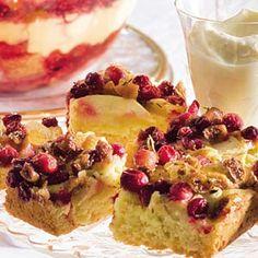 Recept - Plaattaart met appel en cranberry's - Allerhande