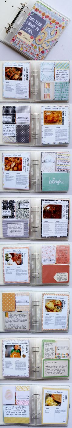 Project Life pocket scrapbooking layout ideas. Inspiration for keeping a pocket scrapbook