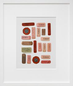 Eraser print // pinned from @Sugar Paper