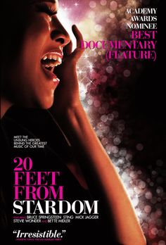 We're thrilled to announce that 20 FEET FROM STARDOM has been nominated for the Best Documentary Feature at the Oscars!