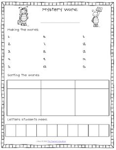 Fun way to work on vocab, spelling, and sorting in guided reading. Classroom Freebies: Making Words in Guided Reading Guided Reading Lessons, Guided Reading Groups, Reading Centers, Reading Workshop, Teaching Reading, Literacy Centers, Reading Tips, Close Reading, Reading Resources