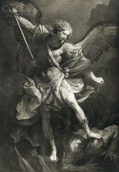 Saint Michael by Reni Guido (1600-1640)