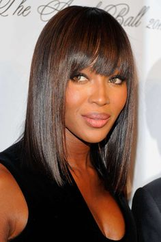 Black Hairstyles Pictures 2017 spring summer hairstyles for black and african Naomi Campbell Elegant Style Hair Elegance Sophisticated