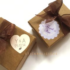 These Sweet Pastels Romantic Wedding Seals are suitable for a garden theme wedding. Leaf symbols on the pastel pink and lavender stickers will add a delicate feel to any wedding favors. Available in romantic heart or flower shape, great as envelope seals too!