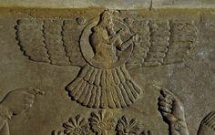 Assyrian sun god Shamash.