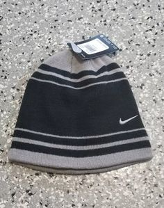 84df16540b0 Extra Off Coupon So Cheap New Nike Youth Boys Girls Unisex Knit Striped Beanie  Hat Size