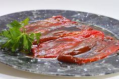 Pimientos de Torquemada asados con Aceite de Oliva Virgen  www.restaurantecasalucio.com