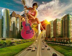 American city musician