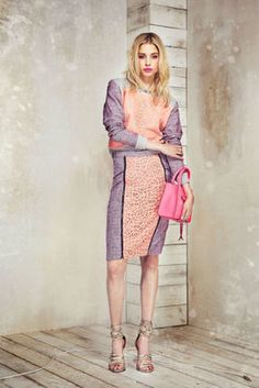 Rebecca Minkoff Resort 2014 Collection - Modern feminine ensembles with a subtle punk vibe define the new Rebecca Minkoff collection for resort 2014. Check it out!