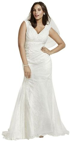 fbfe7a0dcff3 Cheap Plus Size Wedding Dress - Lace Jewel Off The Shoulder Plus Size  Wedding Dress Style