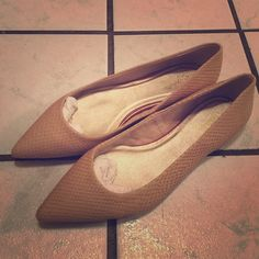 NWOT Seychelles Pointy flats Super cute brand new without box, no tagsSize 7.5 leather upper. Textured Beige color. Pictures show new condition. Seychelles Shoes Flats & Loafers