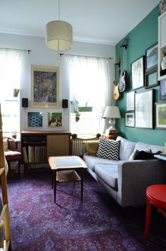 A Comfy, Colorful Mix: 330 Square Feet in the East Village