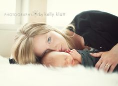 I want to do this shot for every new Mom!