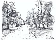 Landscape Drawings | dave gibbons artwork
