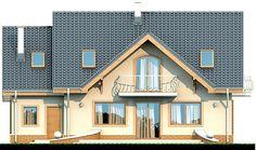 Elewacja DN Karmelita mała CE Malm, Home Fashion, House Plans, Farmhouse, Mansions, House Styles, Modern, Home Decor, Houses