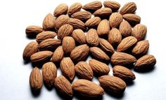 """Almonds: A study has found that people who eat 1.5 ounces of dry-roasted, lightly salted almonds every day experience reduced hunger and improved dietary vitamin E and monounsaturated (""""good"""") fat intake without increasing body weight."""