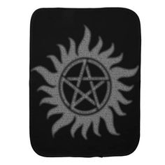 (Falln Carry On Pentacle Baby Burp Cloth) #Anti #Magic #Occult #Pagan #Pentacle #Pentagram #Possession #Protection #Spn #Supernatural #Witch #Witchcraft is available on Funny T-shirts Clothing Store   http://ift.tt/2eXDeq5