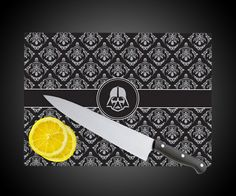 Glass Darth Vader Cutting Board | DudeIWantThat.com