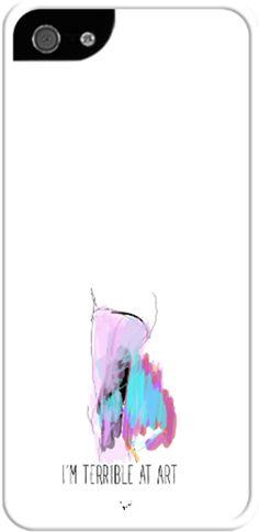Terrible at Art Kendin Tasarla - İphone 55S Kılıfları