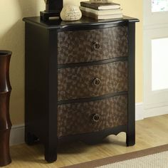 Black / Gold Transitional 3 Drawer Bombay Chest - I 3823 - Monarch Furniture Entryway Furniture, Furniture Sale, Home Decor Furniture, Accent Furniture, Living Room Furniture, Earth Tone Bedroom, Black Gold Bedroom, Bombay Chest, Drawer Design