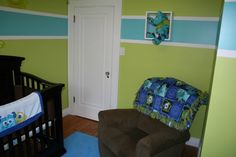 Nursery view 3 monsters inc