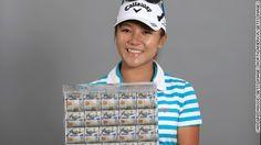Lydia Ko poses with a box of one million dollars in cash. Lpga Players, Lpga Tour, One Million Dollars, Kos, Racing, Golfers, Globe, Women, Running