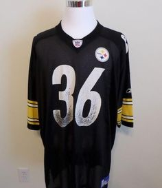 Reebok Vintage Pittsburgh Steelers Jerome Bettis  36 Football Jersey NFL  3XL  Reebok  PittsburghSteelers 144cb99fe