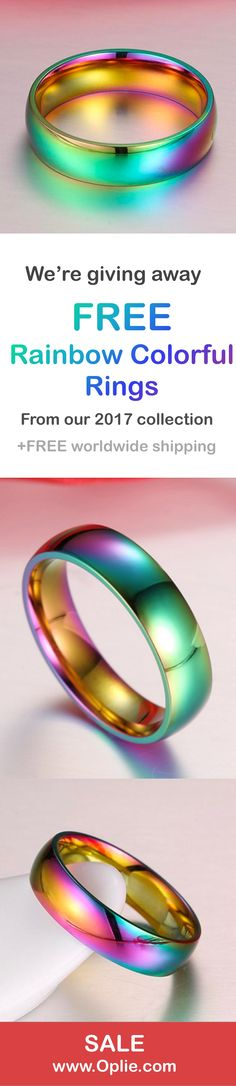 Coloured ring for free