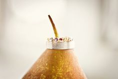 on a pear // Images by A Guy + A Girl Photography