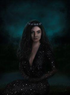 Lorde, digital painting  On jessicaguetta.tumblr.com