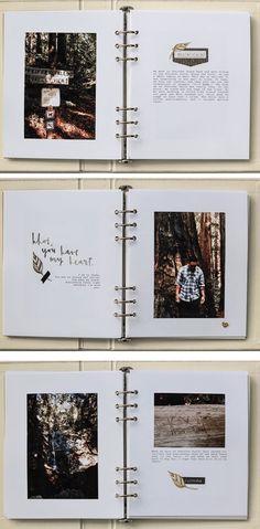 Regalar un álbum o libreta con las fotos que él haga y las frases que haya escrito, para que tenga una especie de libro donde el contenido lo haya creado él.