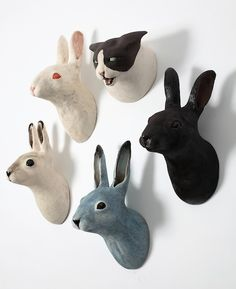 some wabbits for the wall