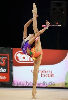 <<Anna Sokolova (Russia)>> Freaking rhythmic though, holy crap