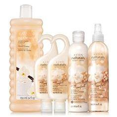 Avon Naturals Vanilla & Sandalwood Collection