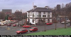 667 Zeneca building and New White Lion Pub, Middleton Old Road, Blackley