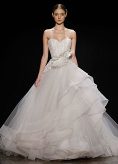 7e7ba818e881 Bridal Gowns, Wedding Dresses by Lazaro - Style LZ3413 Lazaro Bridal,  Lazaro Wedding Dress
