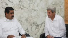 El presidente de Venezuela, Nicolás Maduro, rogó el martes a Dios para que mejoren las relaciones entre su Gobierno y el de su par estadounidense, Barack Obama, a raíz de su encuentro con el secretario de Estado John Kerry en Colombia.  Maduro dijo que su primer encuentro formal con Kerry desde que éste se convirtió en el máximo diplomático de Washington se prolongó por 40 minutos el lunes, en un diálogo que fue interrumpido por varios mandatarios para saludar cuando asistían a la ceremonia…